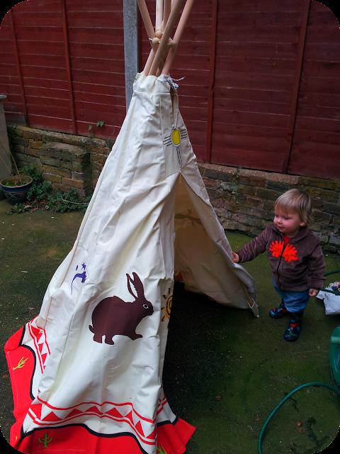 child wigwam, garden tent