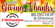 5th Annual Giving Thanks Blog Hop and Giveaway