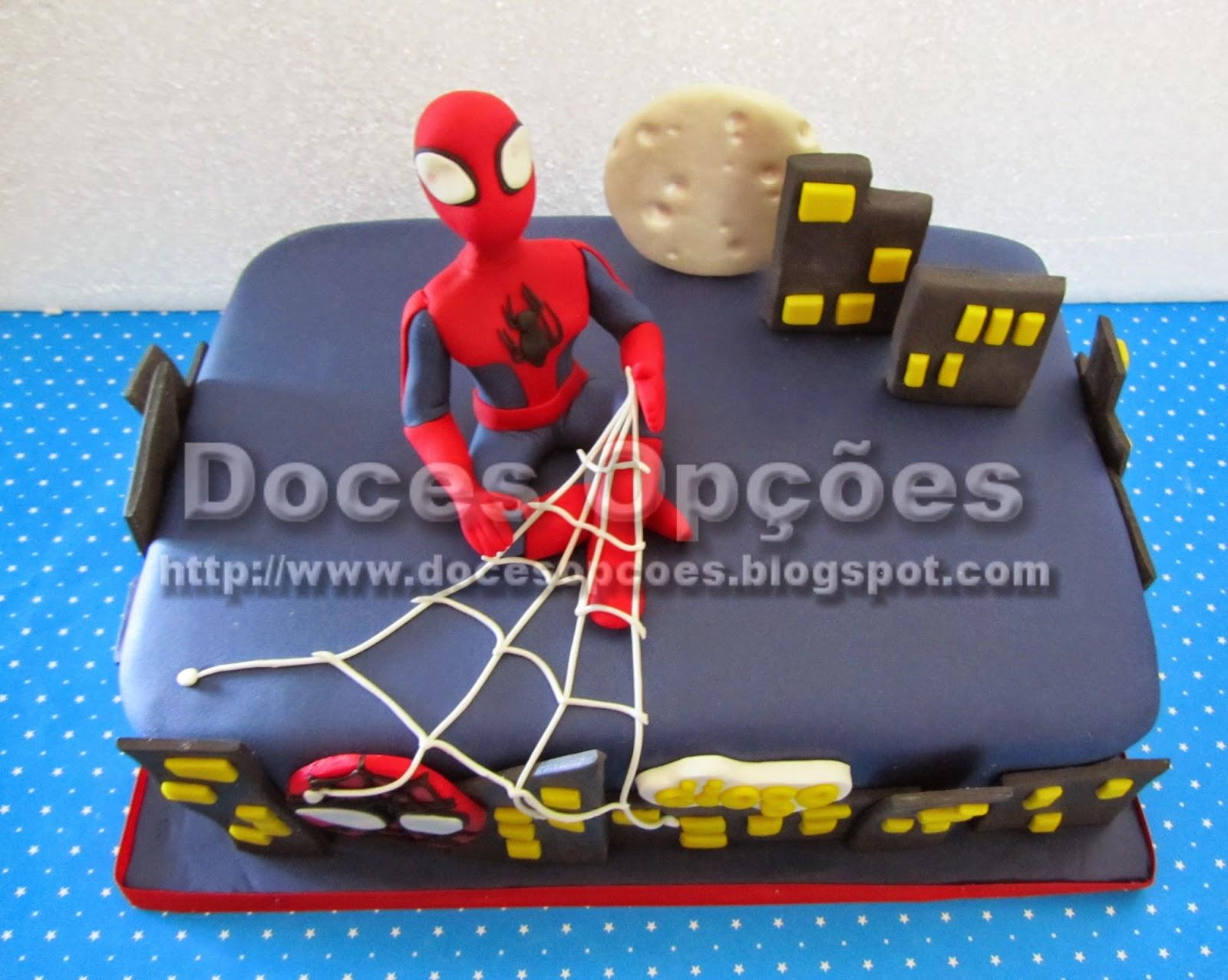 spider man cake