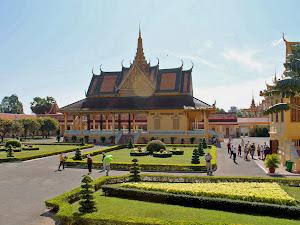 Pabellon Phochani en el Palacio Real de Phnom Penh