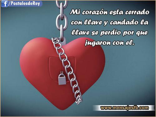 Imagenes con frases de corazón - Mensajes Bonitos de Amor para ...