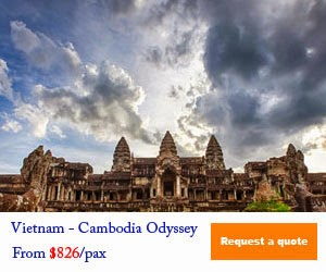 Cambodia Odyssey From $826/pax