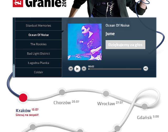 """Ocean of Noise może zagrać na trasie koncertowej """"Męskie Granie 2013"""""""
