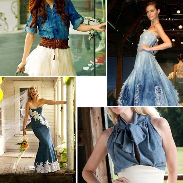 Платье из облегченного джинса сшить фото 397