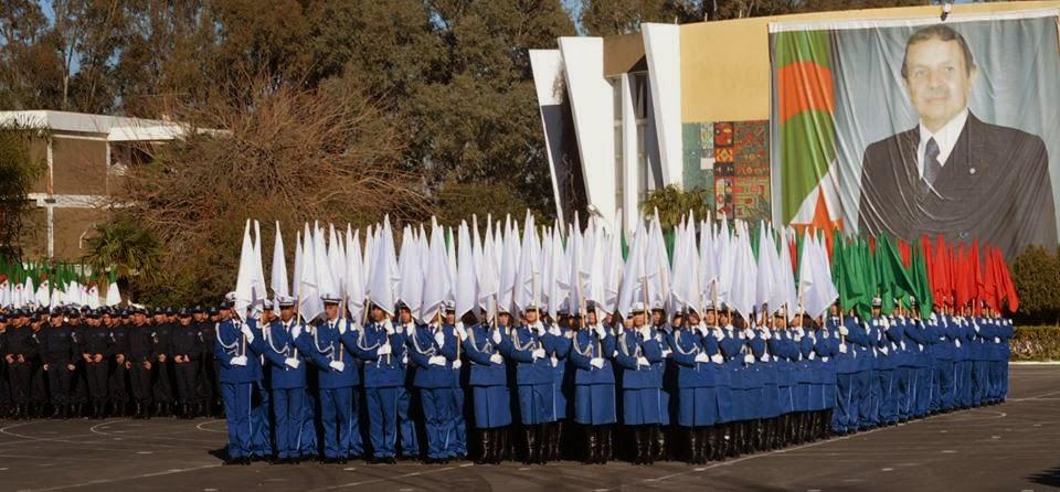 تخرج 509 ملازم أول للشرطة بالمدرسة التطبيقية بالصومعة بالبليدة
