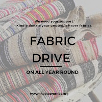 DONATE TO OUR FABRIC DRIVE