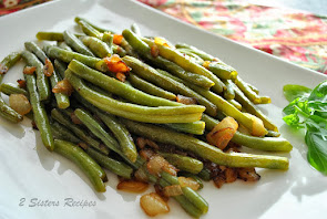 Sauteed Green Bean with Onions