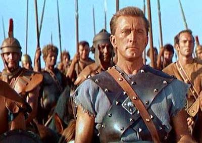 Kirk Douglas as Spartacus, directed by Stanley Kubrick