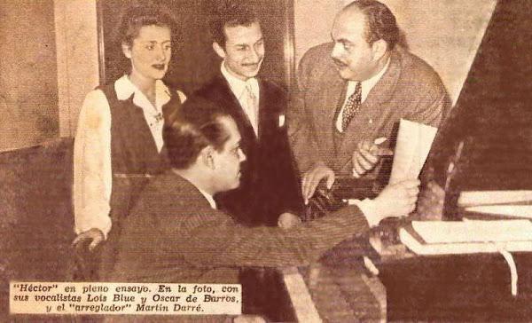 Cantantes de Héctor y su jazz