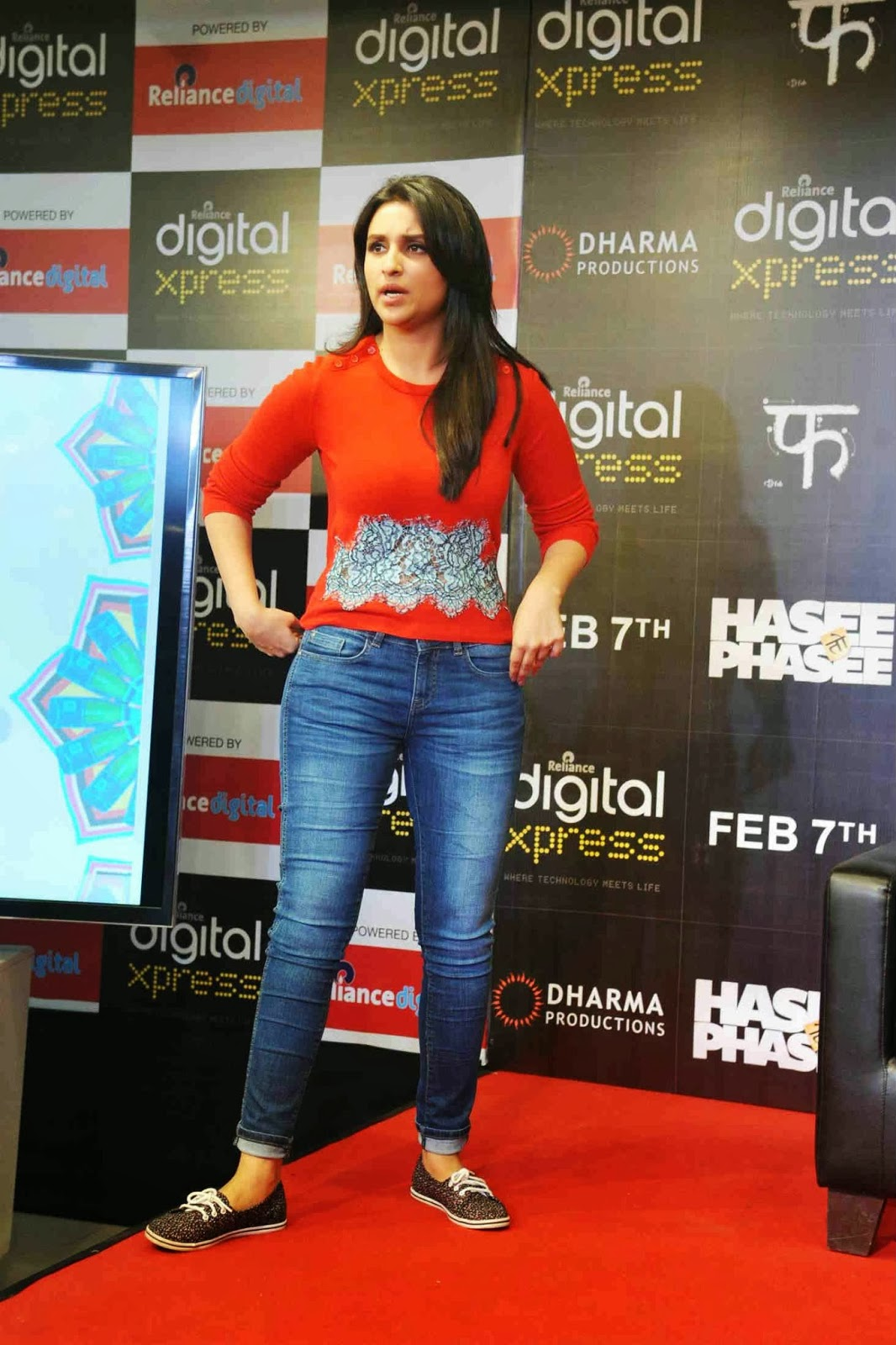 Hasee Toh Phasee Movie Mobile App Launch