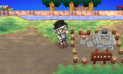 森 の サイト キャンプ どうぶつ 場所 あつまれ