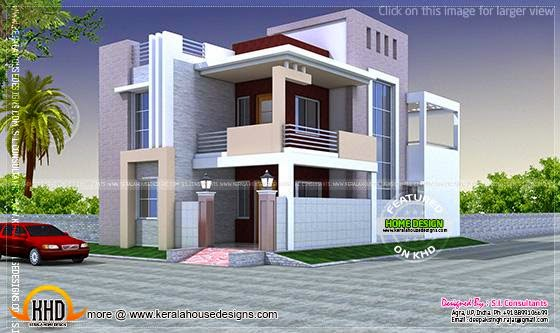July 2014 kerala home design and floor plans for Home design in 100 gaj
