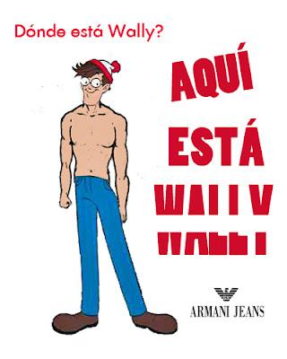El lazo lazy: Wally se desmelena para Armani Jeans