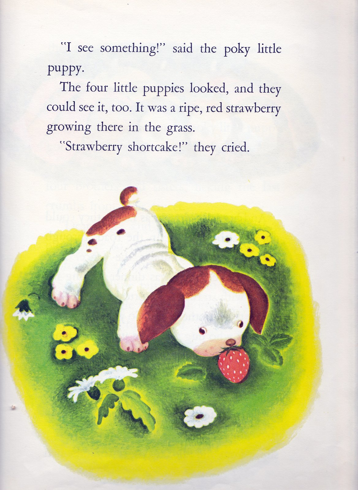 Vintage Books For The Very Young The Poky Little Puppy
