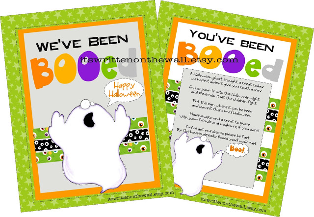 You've Been Booed-Printable & Treat Tutoria