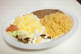Burritos Al Pastor and Carnitas