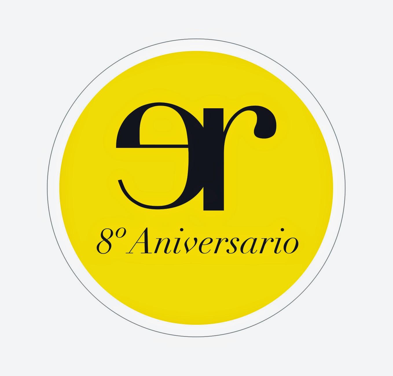 Eva Rogado Cosmética. 8º Aniversario. Logo