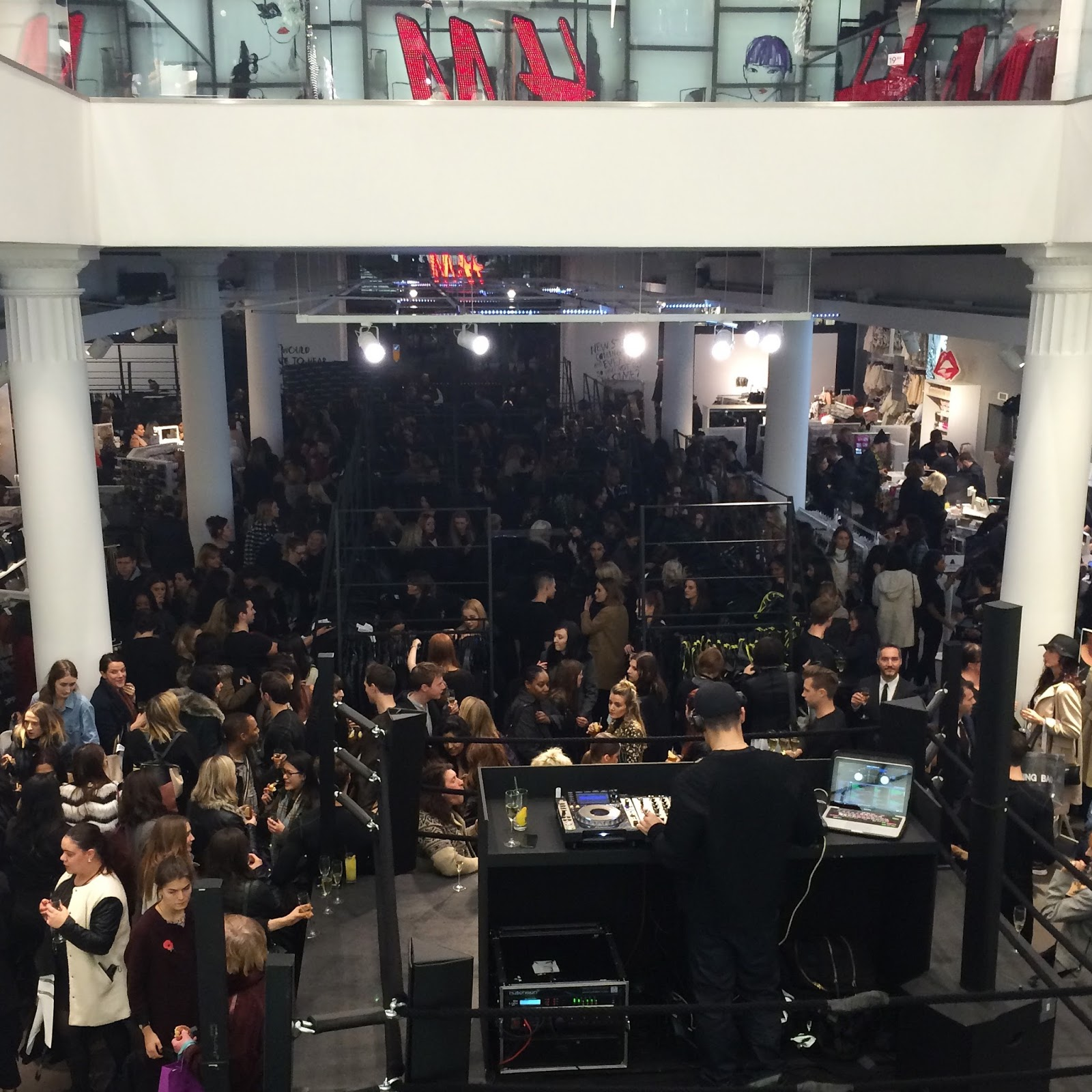 Alexander Wang x H&M Exclusive Shopping Event Regent Street
