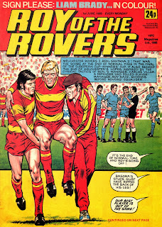 1985 Cup Winners Cup Final Melchester Rovers v Real Santana