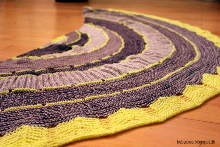 Exploration Station Westknits Madelinetosh Tosh Merino Light knit shawl strik sjal