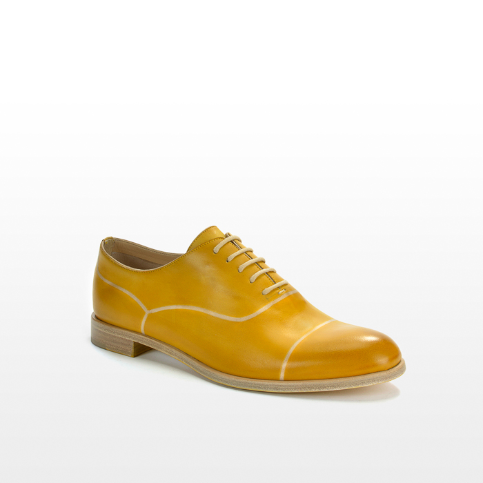 Bluchers color amarillo mostaza
