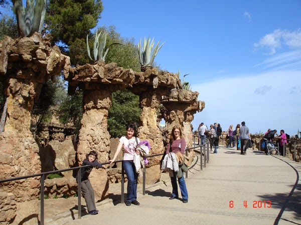 agave in Parc Guell