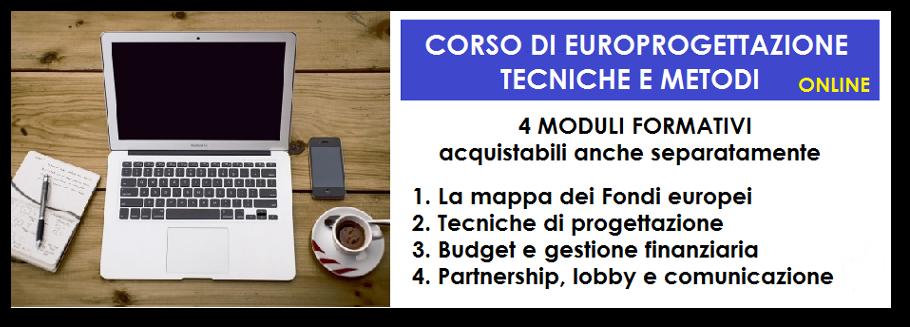 Corso di Europrogettazione ONLINE