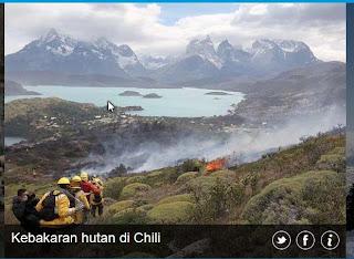inovLy media : Kebakaran hutan di chilli