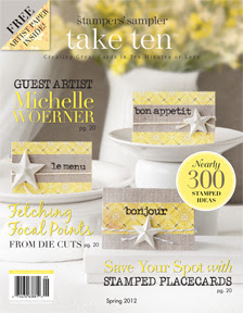 Cover Girl of Take Ten Spring 2012