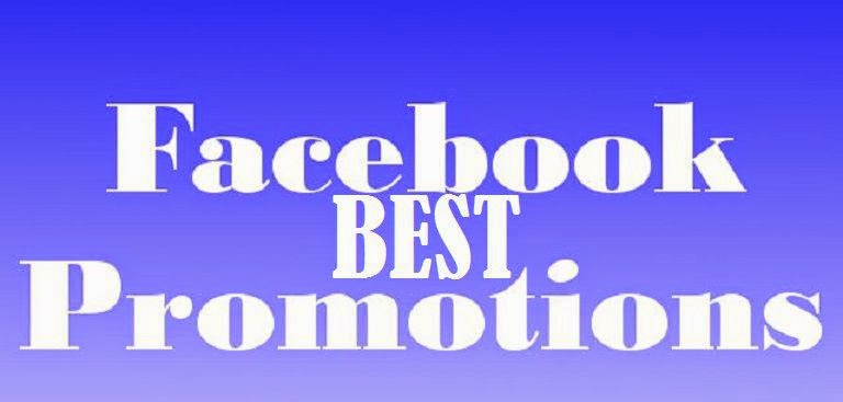 Best Facebook promotions image photo