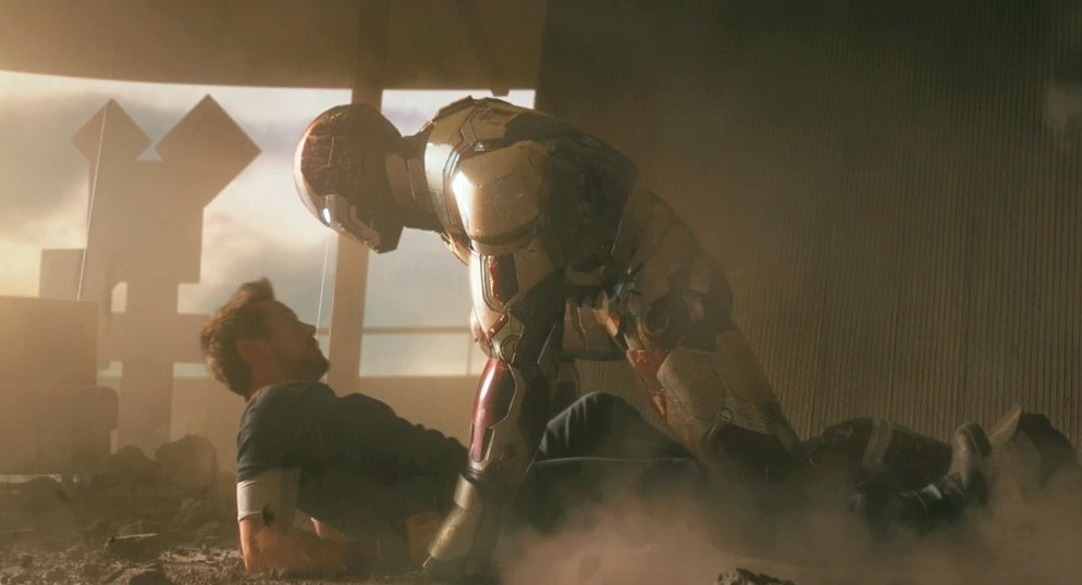 Pepper potts suit iron man 3