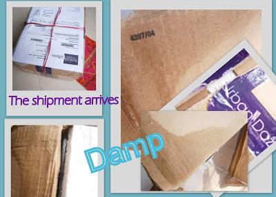 damp shipment form urbandazzle collage