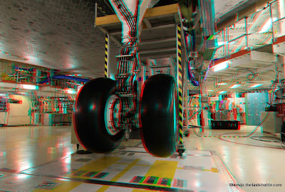 sony nex 3d nasa space shuttle