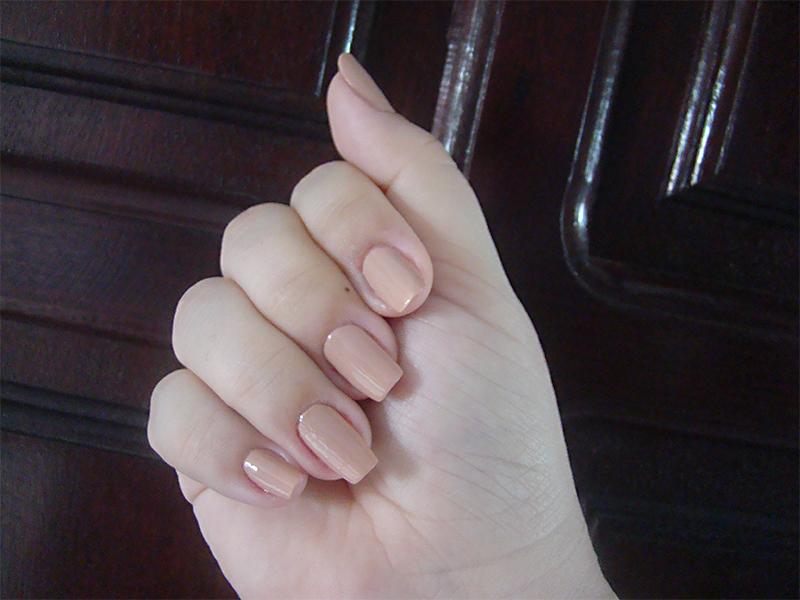 esmalte nude risqué colecionistas unha manicure nails fotos que adoro