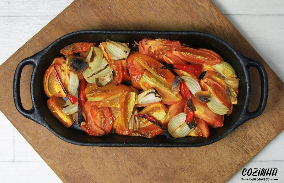 Sopa fácil de tomate assado