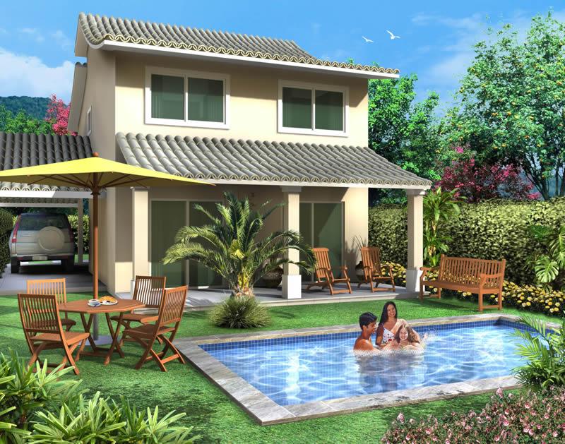 Modelos de casas muito bonitas dicas na web for Casas medianas bonitas