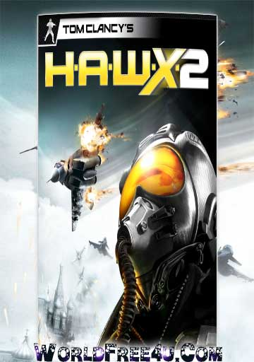Cover Of Tom Clancy's HAWX 2 Full Latest Version PC Game Free Download Mediafire Links At worldfree4u.com
