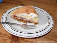 Bananen-Erdbeer-Cream-Pie