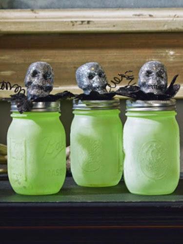 10 idées pour Recycler du Verre à Halloween, II Partie
