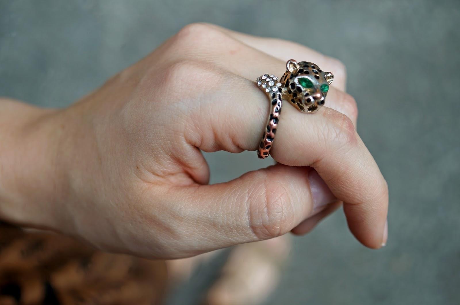 Forever 21 Tiger Ring