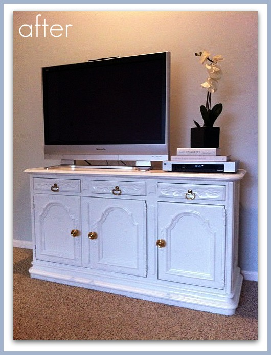 Abby Manchesky Interiors: before and after: Craig's List buffet ...