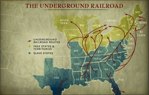 the underground railroad The underground railroad is a term for the covert network of people and places that assisted fugitive slaves as they escaped from slavery in the south.