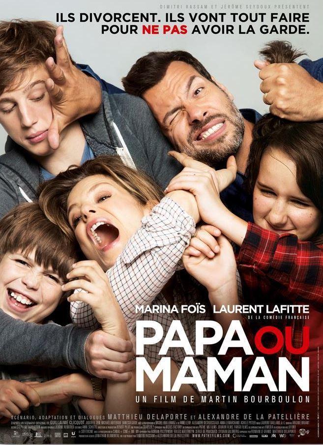 Ver Papa ou maman (Papá o mamá) (2015) Online