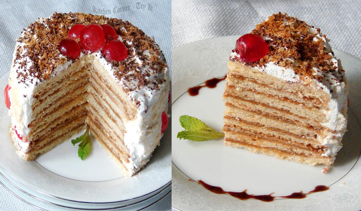 Russian Cream Cake Tunbridge Wells