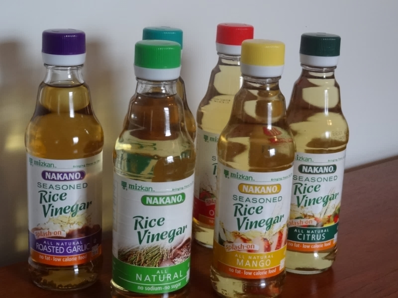 all natural, seasoned, no fat, rice vinegar's, cooking, recipe, healthy
