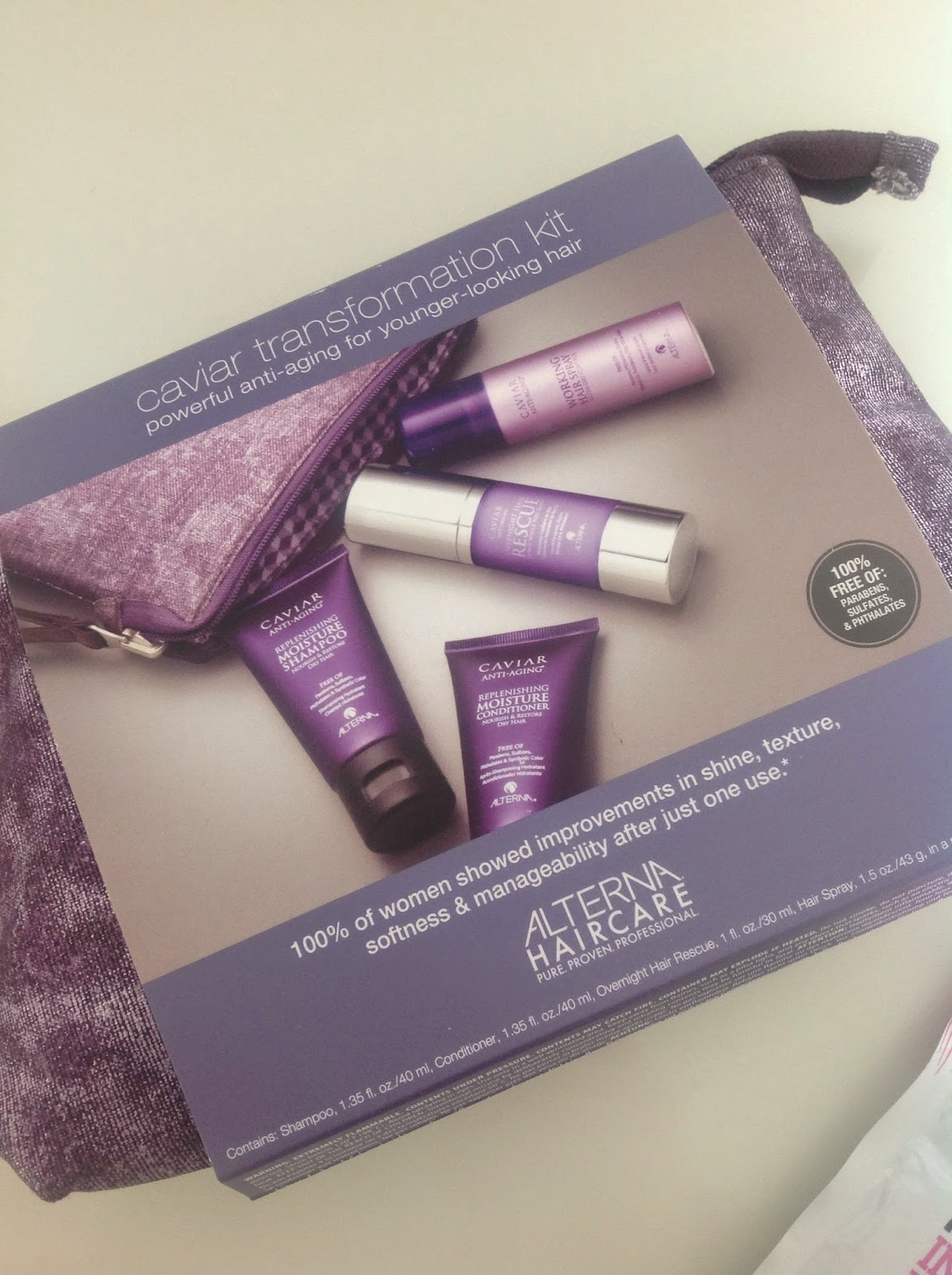 Alterna Caviar Transformation Kit