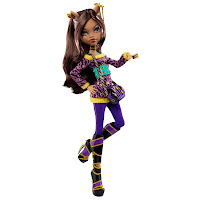 Poupée Clawdeen Wolf School Out