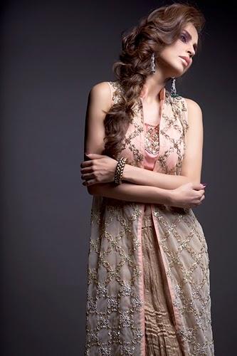 Momina Teli Evening Party Wear-2014-15