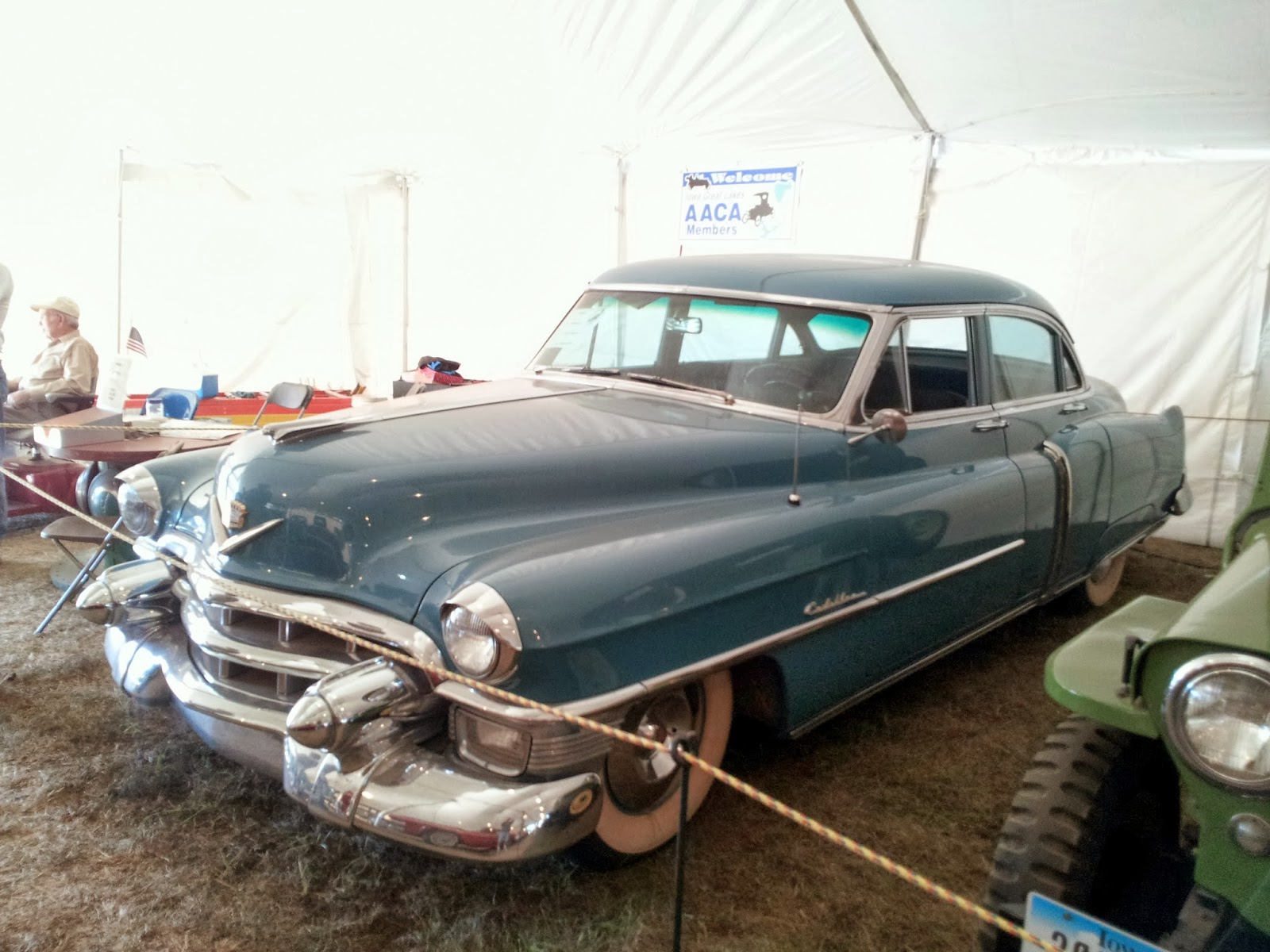 History and culture by bicycle clay county fair iowa for 1953 cadillac 4 door sedan