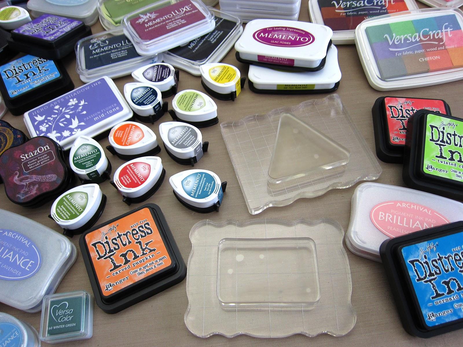Printing With Gelli ArtsR Mini GelliR Stamping Ink Pads